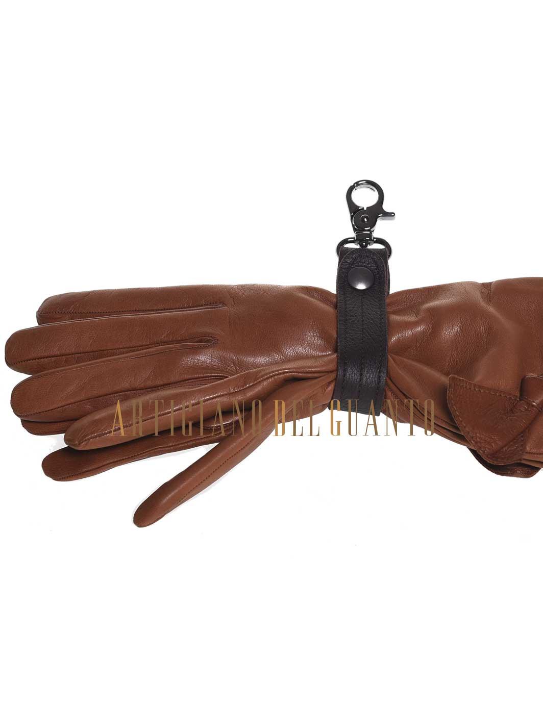 Porta guanti in pelle